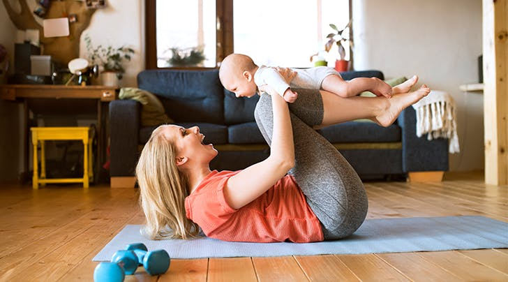 Regaining Fitness and Form After Giving Birth